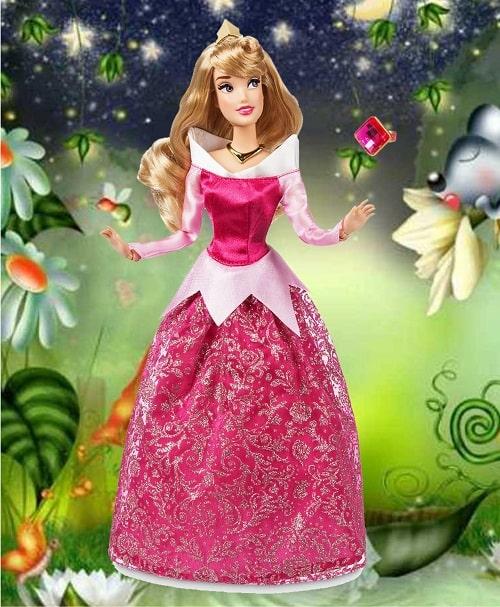 Кукла Принцесса Диснея, Аврора  с кольцом