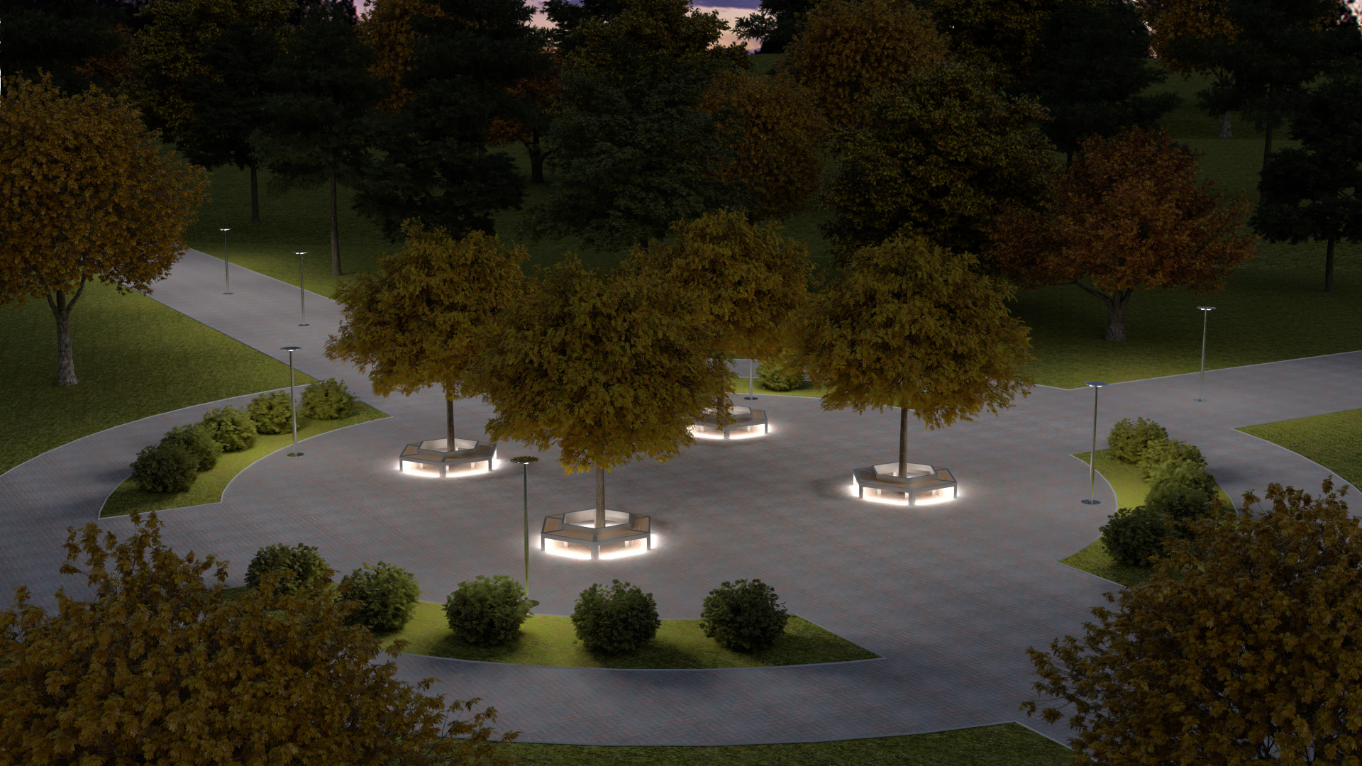TRIF-MEBEL | антивандальная садово-парковая мебель
