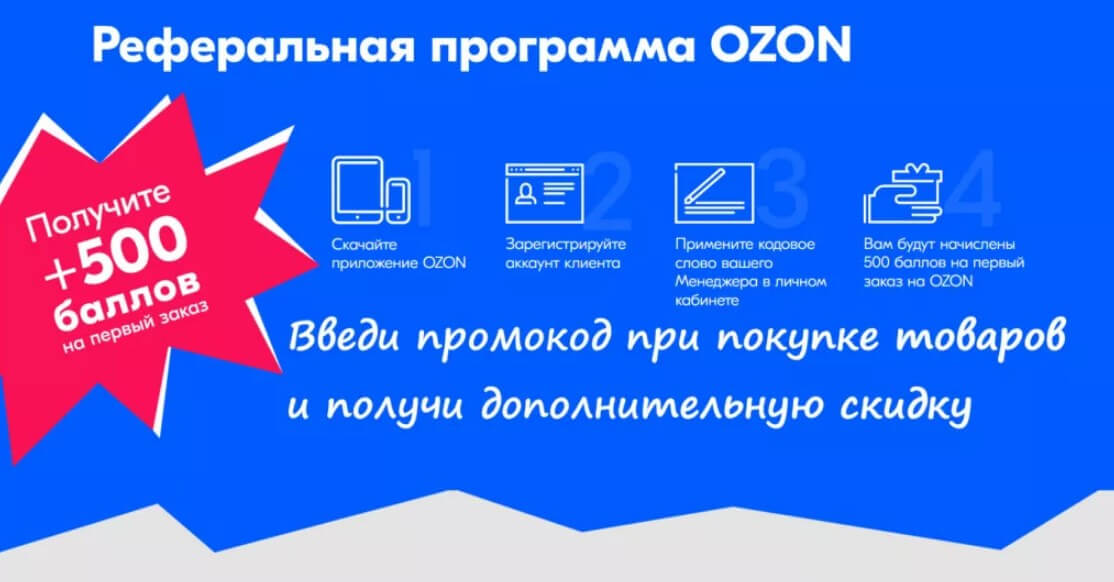 Партнерская программа OZON