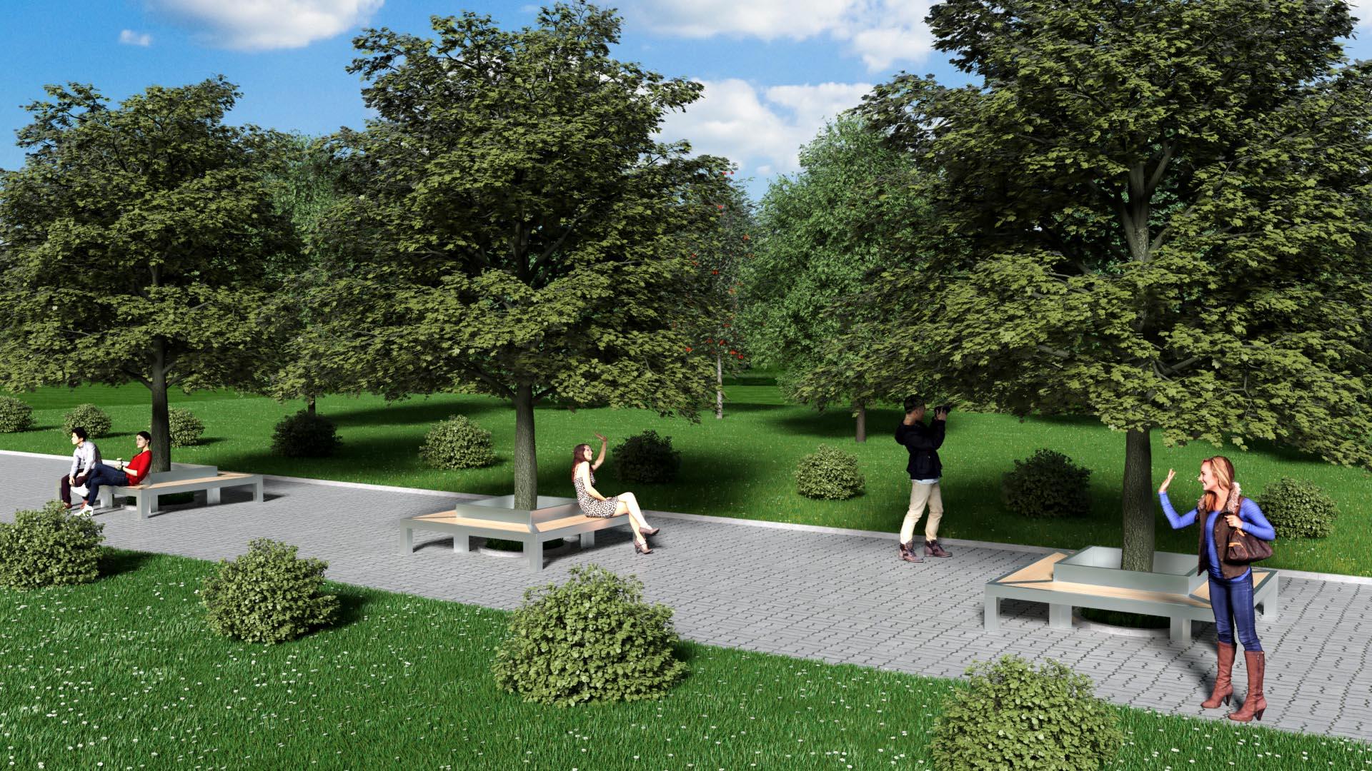 Садово-парковая мебель из металла и дерева от российского производителя