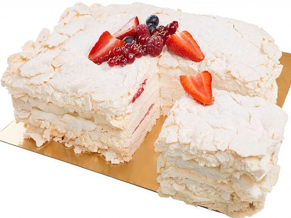 Меренговый торт без глютен
