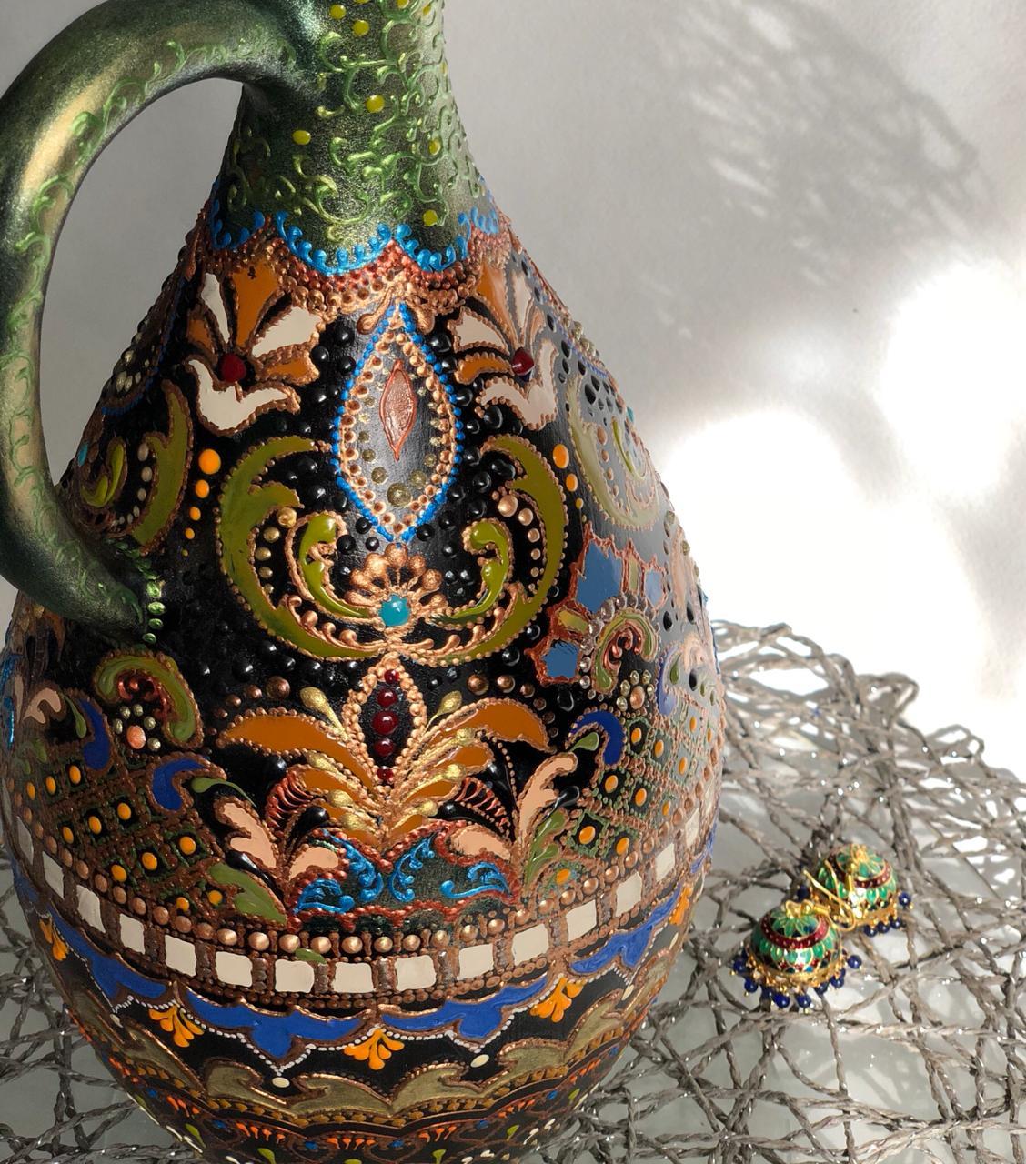 Работы Евгении Ансари, выполненные с применением материалов SMAR