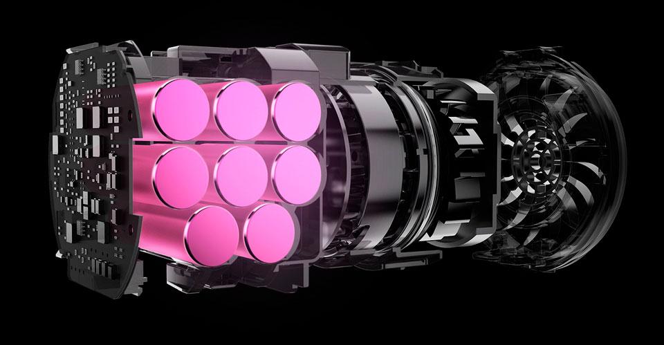 Roidmi F8 Handheld Wireless Vacuum Cleaner мощный двигатель