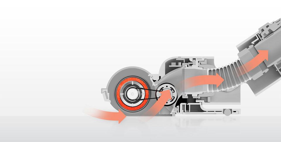 Roidmi F8 Handheld Wireless Vacuum Cleaner автономная работа