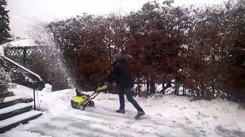 Особенности выбора электрического снегоуборщика