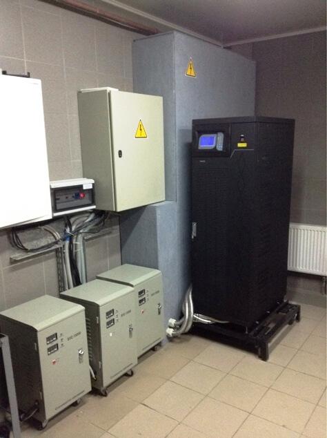 Трехфазный ИБП Gewald Electric KR3360