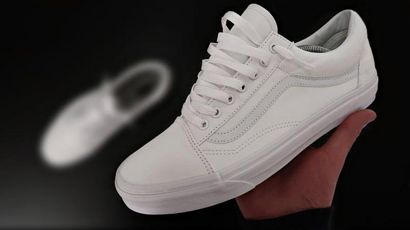 Отбелить шнурки на кроссовках - 1