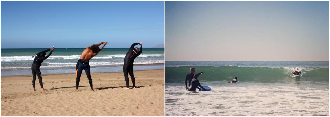 Школа серфинга для начинающих в Марокко