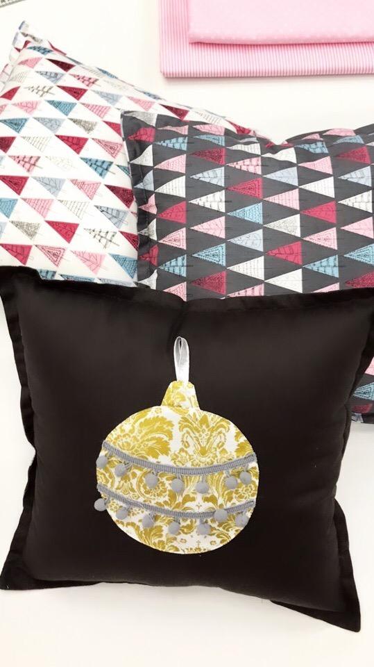 Новогодний декор для дома из ткани