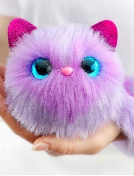 Котенок Pomsies Сапожок - интерактивная мягкая игрушка
