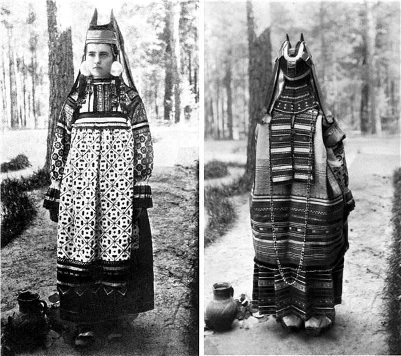 русский народный головной убор женский