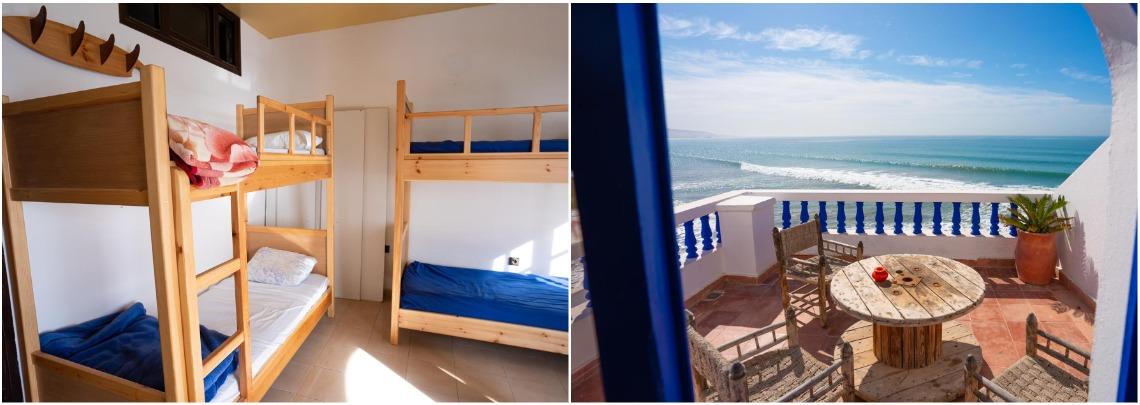Серф-хостел в Марокко