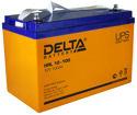 Герметичный свинцово-кислотный аккумулятор Delta HRL 12-100