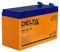 Герметичный свинцово-кислотный аккумулятор Delta HRL 12-7.2
