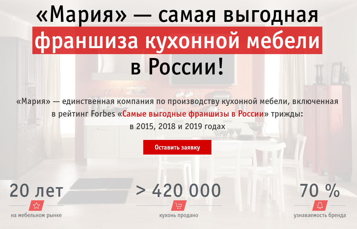 Интернет-магазин мебели Мария