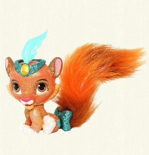 Игрушка тигренок Султан - питомец куклы Жасмин, в наборе с аксессуарами