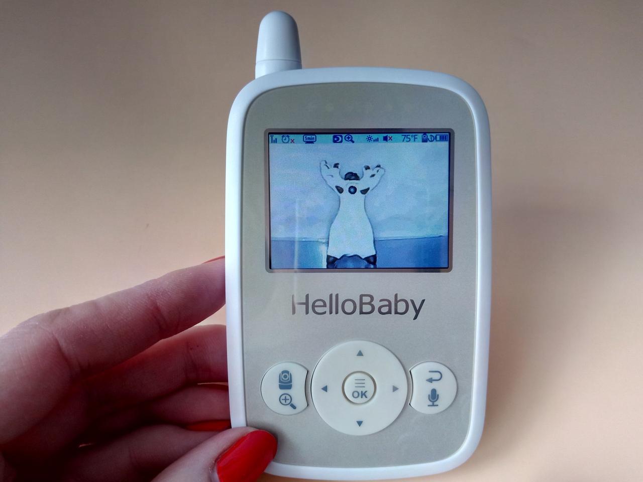 Видеоняня HelloBaby HB248 ночное видение