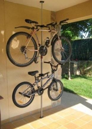 телескопическая подставка под велосипед