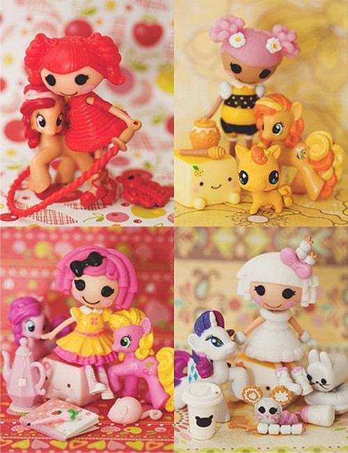 Мини фигурки кукол Лалалупси