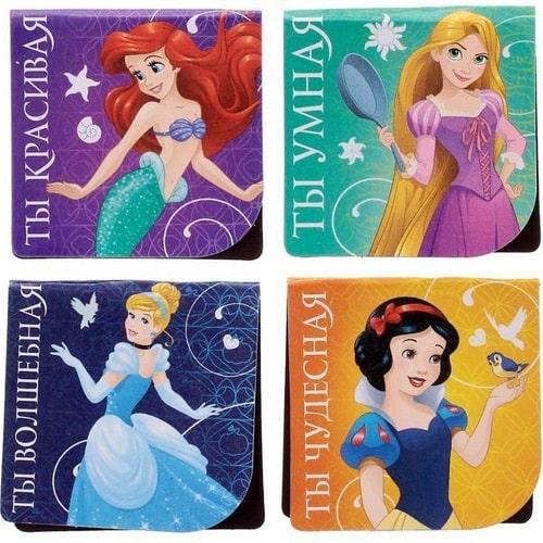 """Закладки магнитные """"Принцессы"""""""