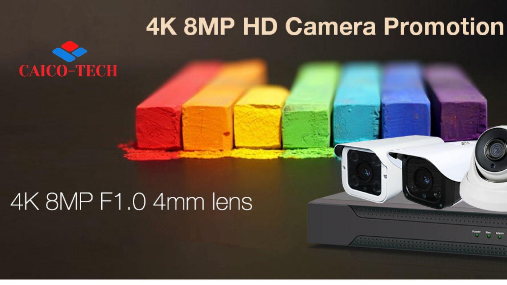 CAICO TECH CCTV 4K камеры