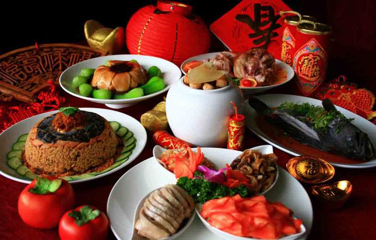 китайская еда на новый год