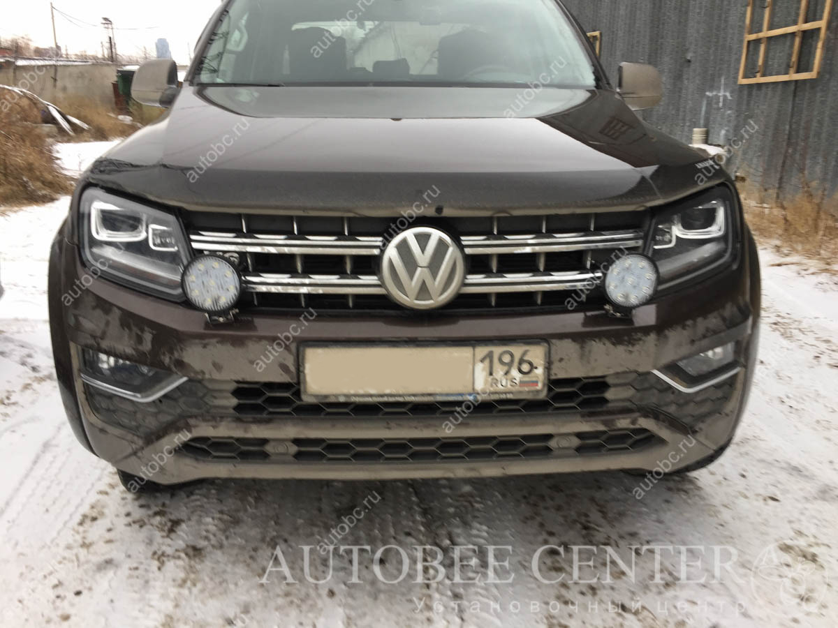 установка птф VW Amarok