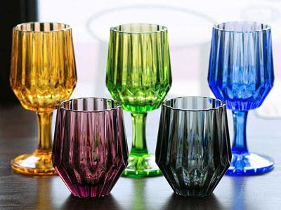 Цветные стаканы