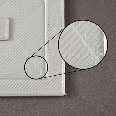 Сопло царапает верхний слой 3д распечатки
