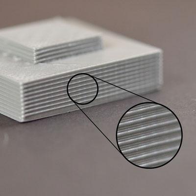 Неровные слоки на стенках 3д распечаток
