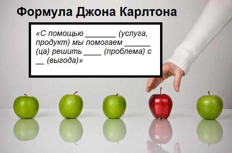 формула Джона Карлтона