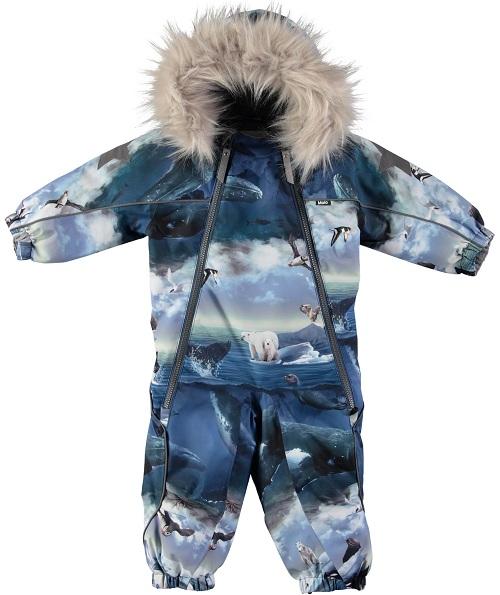 Комбинезон Molo Pyxis Arctic Landscape для мальчиков (Зима 2018-2019)