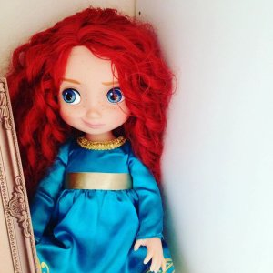 Кукла Мерида с питомцем, Disney Animators' Collection
