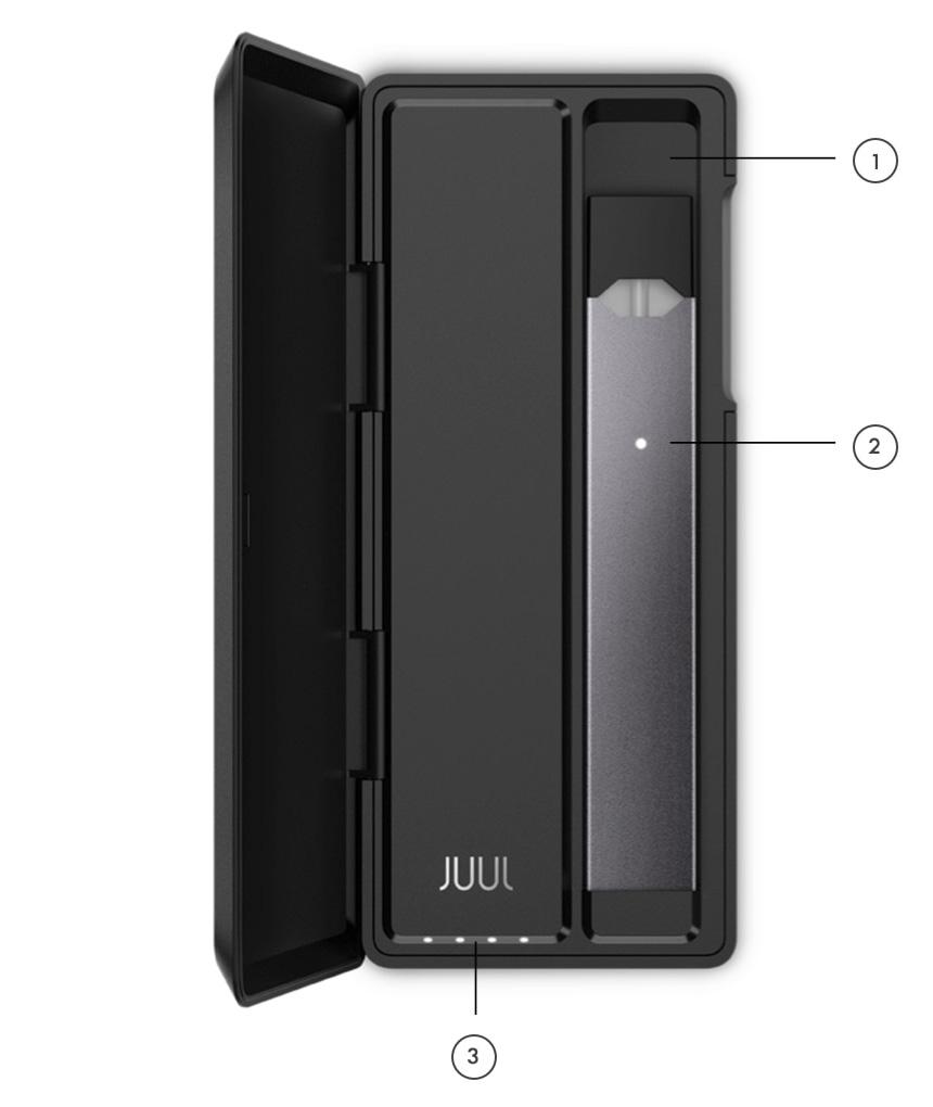 Зарядный кейс JUUL Portable Charging Case