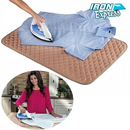 Полотно гладильное Iron Express – коврик для глажки