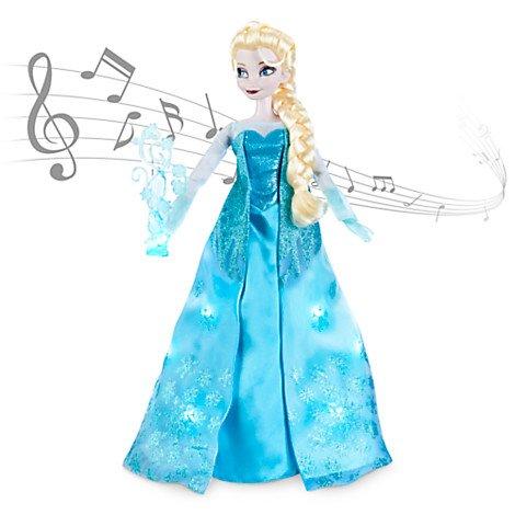 Поющая Эльза в магазине игрушек \магия кукол
