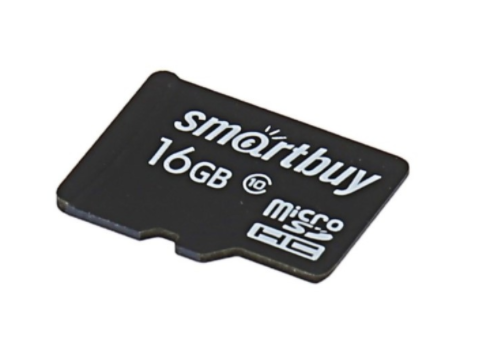 Карта памяти Smartbuy MicroSDHC 16GB Class 10 + SD Adapter