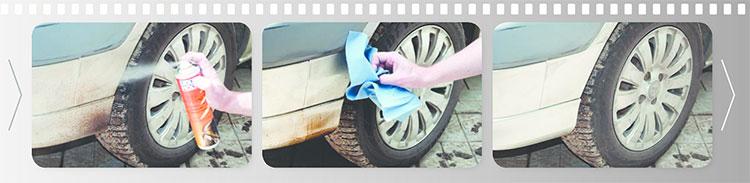 Как почистить пятна битума на дисках машины