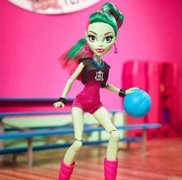 Кукла Венера МакФлайтрап с мячем  от Ever After High
