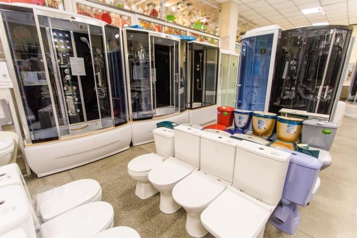 Крупная сантехника покупается в магазин по остаточному принципу