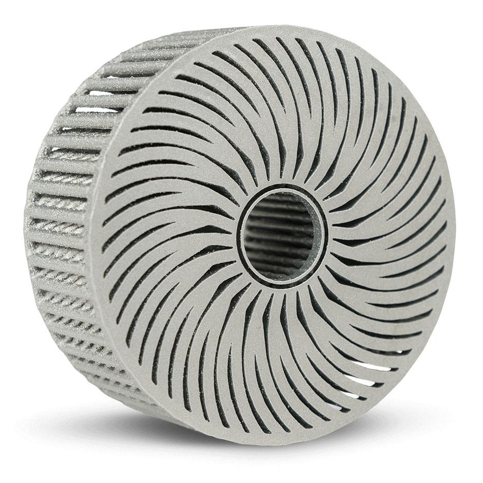 LaserForm AlSi10Mg (A) — материал из алюминия для производства деталей, которым необходимо иметь легкий вес, хорошие механические свойства и высокую теплопроводность
