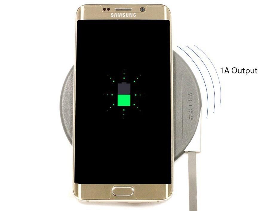 Зарядное устройство 5V VH wireless charging pad VH101 зарядка самсунга