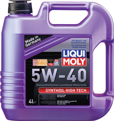 Liqui Moly Synthoil High Tech 5W 40