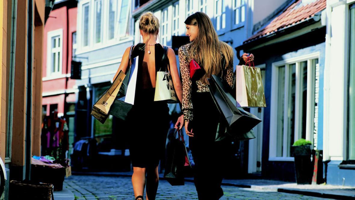 женский шоппинг
