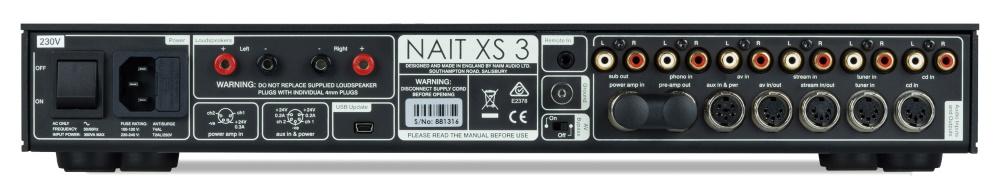 Интегральный усилитель Naim NAIT XS 3