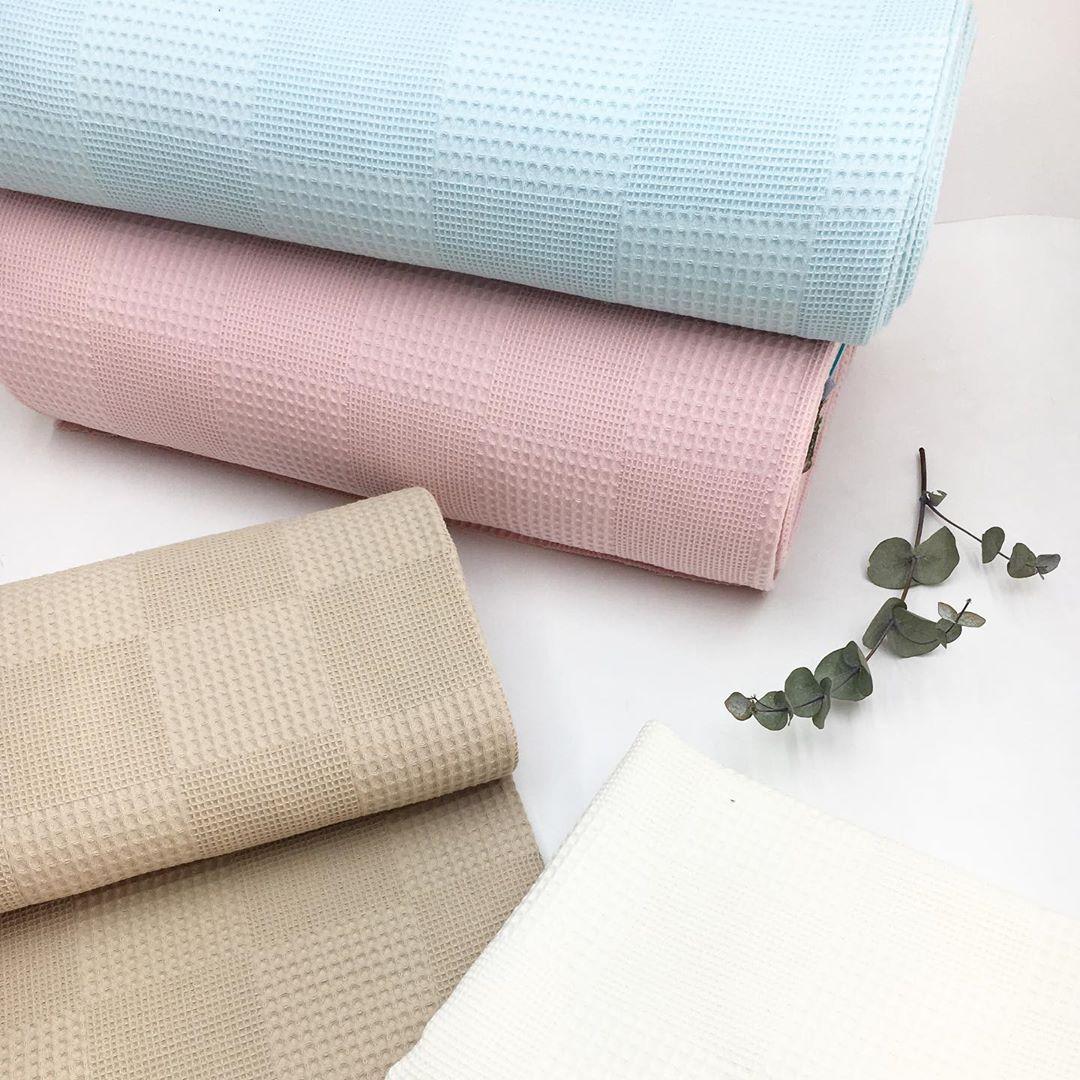 Купить вафельную ткань для халатов