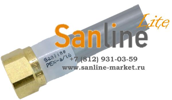 Кольцо обжимное с упором Sanline Lite 20мм