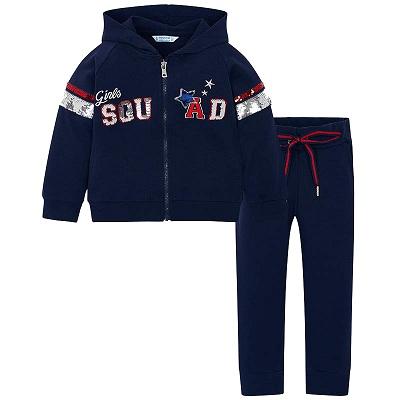 Одежда Mayoral Весна-Лето 2019, костюм спортивный для девочек