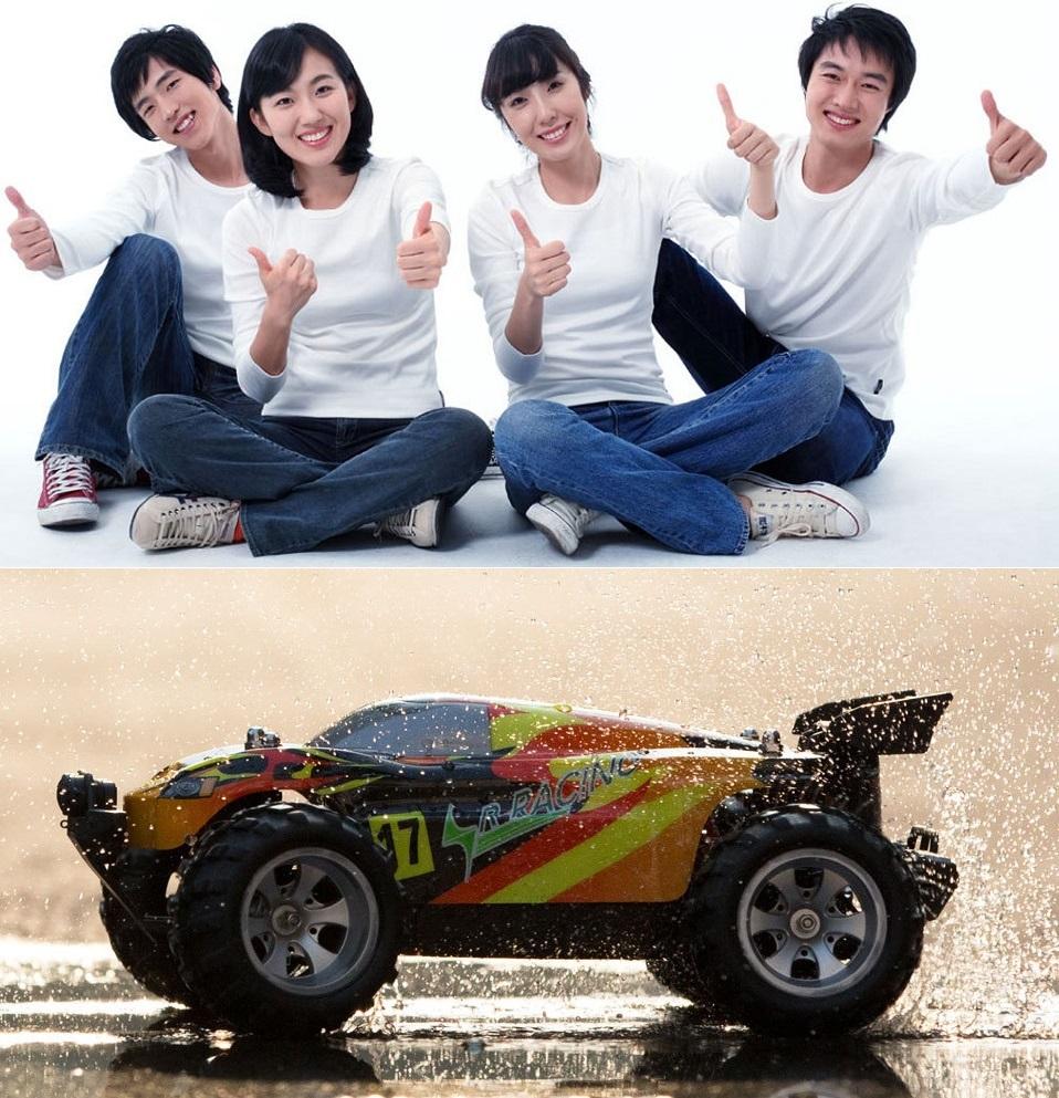 Машинка на д/у Xiaomi Run Cool Smart Speed Racing перемещение по влажной дороге