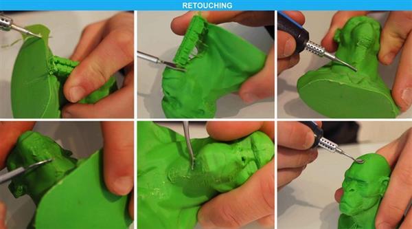 Инструменты для пост-обработки 3D-печати